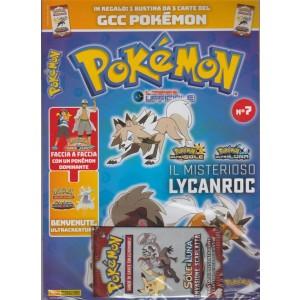 Pokemon:il Magazine Ufficiale- Bimestrale n.7 Dicembre 2017+ 3 carte GCC Pokémon
