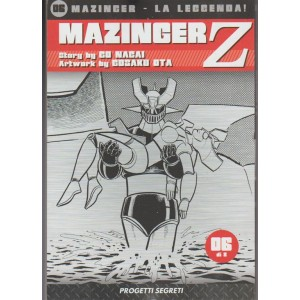 "Manga: Mazinger Z - n. 6 di 8 ""Progetti segreti"""