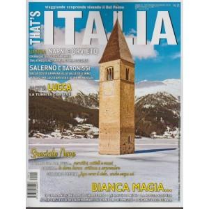 That's Italia - bimestrale n.21 Dicembre 2017 in Città Lucca: la Turrita cortese