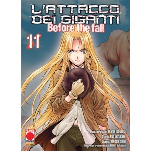 Manga: L'Attacco dei Giganti – Before the fall   11 - Manga Shock   16