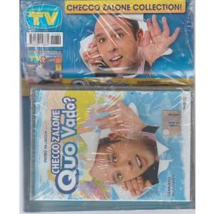 Sorrisi e Canzoni Tv-settimanale n.22-28 Luglio 2017+DVD Quo vado? Checco Zalone