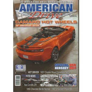 American Drive - bimestrale n. 79 Dicembre 2017 Special Hershey USA 2017