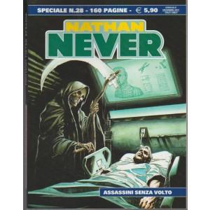 Nathan Never Special - annuale n. 28 Dicembre 2017 - Assassini Senza Volto