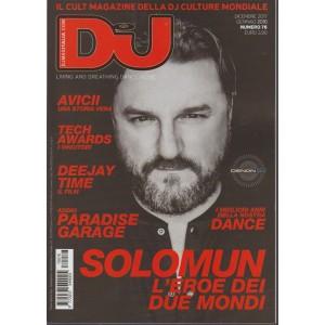 Dj Magazine Italia - mensile n. 76 Dicembre 2017 - Solomun l'eroe dei due mondi