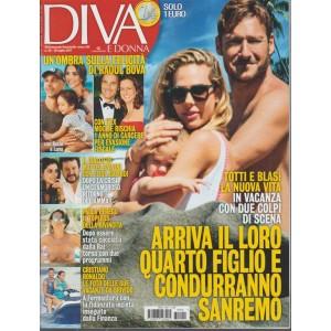 Diva e Donna  - settimanale n. 29 - 25 Luglio 2017 - Totti e Blasi la nuova vita