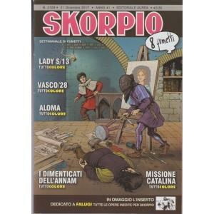 Skorpio - settimanale di fumetti n. 2129 - 21 dicembre 2017 - 8 Fumetti