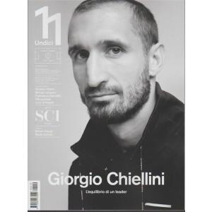 Undici -bimestrale n.19-Dicembre2017 Giorgio Chiellini l'equilibrio di un leader