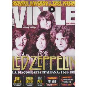 Vinile - bimestrale n. 11 Dicembre 2017 Led Zeppelin:  la discografia italiana