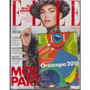 ELLE Italia Pocket - mensile n. 1 Gennaio 2018 + Oroscopo 2018