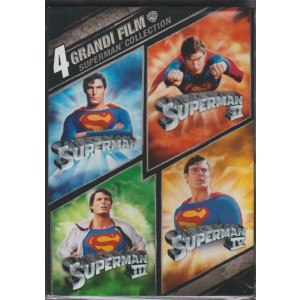 4 Dvd - Cofanetto Superman: 4 film collection