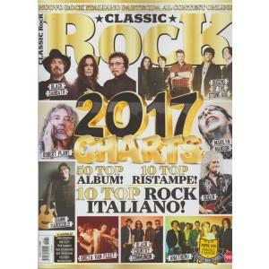 "Classic Rock - mensile n. 62 Gennaio 2018 ""2017 charts """