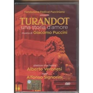 DVD-Turandot:una storia d'amore musiche: Giacomo Puccini regia Alfonso Signorini