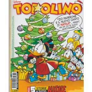 Topolino Disney - settimanale n. 3239 - 20 Dicembre 2017 - Panini comics