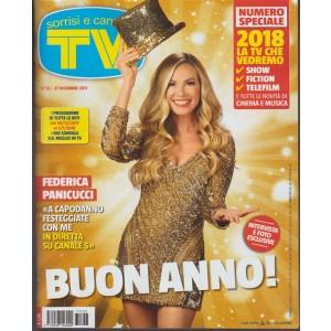 """Sorrisi e Canzoni Tv -settimanale n.53- 27 Dicembre 2017 """"2018 la TV che vedremo"""""""