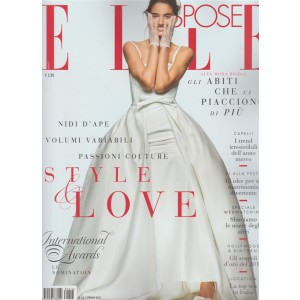 Elle Spose - semestrale n. 16 Gennaio 2018 alta moda Bridal