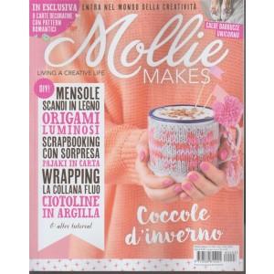 Mollie Makes - bimestrale n. 3 Gennaio 2018 - living a creative life
