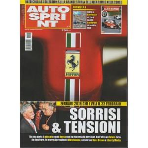 Autosprint - settimanale n. 1 - 2 Gennaio 2018 - Ferrari 2018 Sorrisi & Tensioni