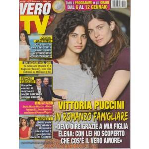 Vero Tv - settimanale n.1 - 8 Gennaio 2018- Vittoria Puccini in Romanzo Popolare