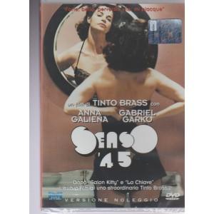 """DVD - SENSO ' 45 - Un film di Tinto Brass - """"Forte, bello, perverso, vile: mi piacque"""