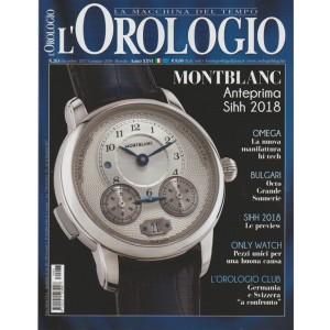 L'orologio: la macchina del tempo - mensile n. 263 - Gennaio 2018