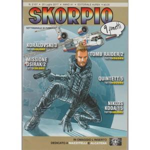 Skorpio - settimanale di fumetti n. 2107 - 20 Luglio 2017 - 9 Fumetti