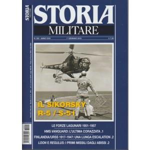 Storia Militare - mensile n. 292 Gennaio 2018 - il Sikorsky R-5 / S-51