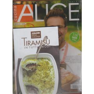 Alice Cucina - mensile n. 8 Agosto 2017 + libro TIRAMISU' in tutti i modi