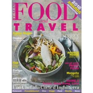 "Food And Travel Italia - bimestrale n.1 Gennaio ""2018  "" Awards nomination"