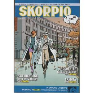 Skorpio - settimanale n. 2133 - 18 gennaio 2018 - 7 Fumetti
