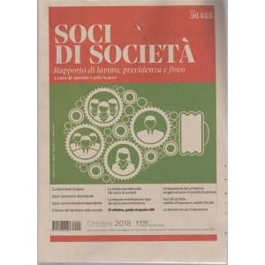 Sindaci & Revisori - Soci Di Società: Rapporto di lavoro, previdenza e fisco - n. 3 - ottobre 2018 - mensile