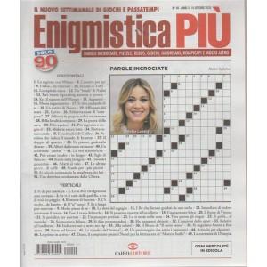 Enigmistica Piu' - n. 40 - 10 ottobre 2018 - settimanale