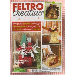 Feltro Creativo Facile - n. 6 - 29 settembre 2018 - trimestrale