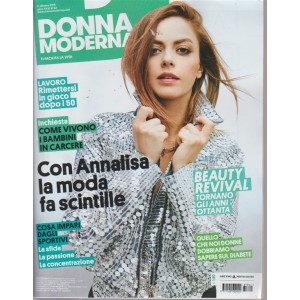 Donna Moderna - n. 42 - 3 ottobre 2018 - settimanale