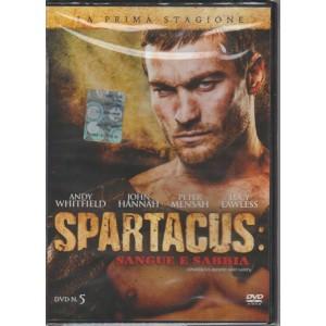 Spartacus : sangue e sabbia - n. 5 - La prima stagione -