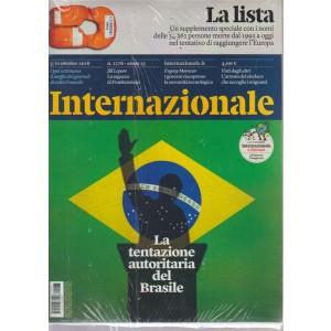 Internazionale - n. 1276 - 5/11 ottobre 2018 - settimanale - + La lista