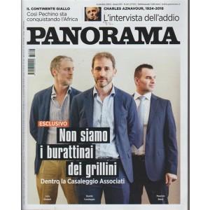 Panorama - n. 42 - 4 ottobre 2018 - settimanale -