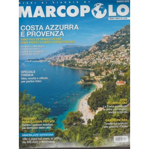 Marco Polo - mensile n. 2 Marzo 2018 + diari di viaggio: Salerno & Puglia
