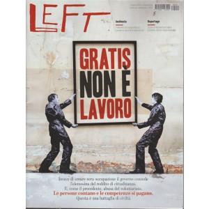 Left - n. 40 - 5 ottobre 2018 - 11 ottobre 2018 - settimanale