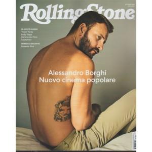 Rolling Stone - Alessandro Borghi Nuovo cinema popolare - n. 10 - mensile - ottobre 2018