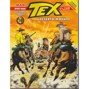 Tex maxi - n. 23 - semestrale - ottobre 2018 - 340 pagine - Deserto Mohave