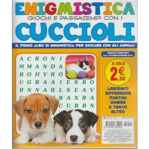 Enigmistica giochi e passatempi con i cuccioli - n. 14 - bimestrale - ottobre - novembre 2018 -