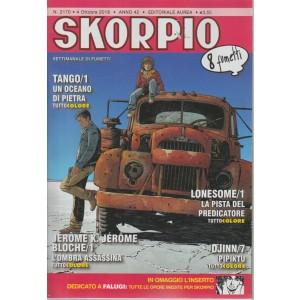 Skorpio - n. 2170 - 4 ottobre 2018 - settimanale di fumetti