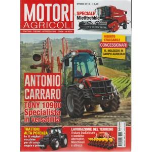 Motori Agricoli - n. 4 - ottobre 2018 - bimestrale -
