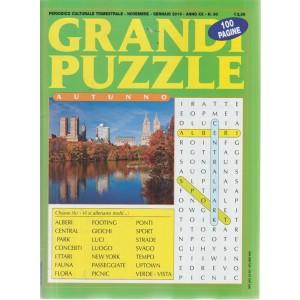 Grande puzzle - autunno - n. 80 - trimestrale - novembre - gennaio 2018 - 100 pagine