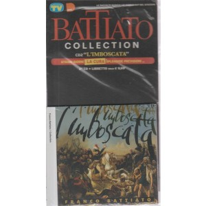 Le raccolte musicali di Sorrisi n. 34 - ottobre 2018 -  Battiato collection - 2° CD + libretto  - l'imboscata