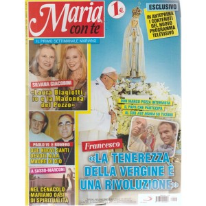 Maria con te - n. 23 - 14 ottobre 2018 - settimanale