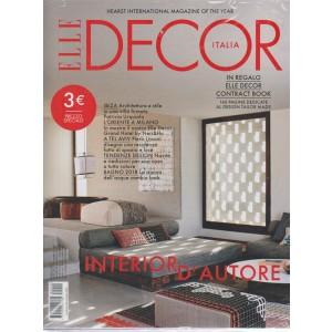Elle Decor Italia + Elle decor Italia contract book - n. 10 - ottobre 2018 - mensile - 2 riviste -