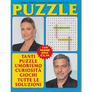 Puzzle - n. 41 - trimestrale - novembre - gennaio 2019 - 164 pagine