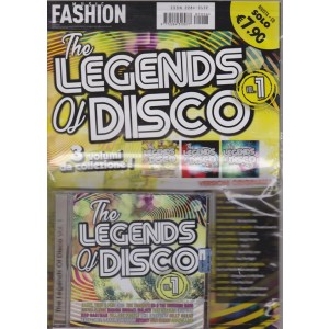 Music Fashion Var.07 - The Legends Of Disco - 3 volumi da collezione! - rivista + CD - ottobre 2018 - volume 1