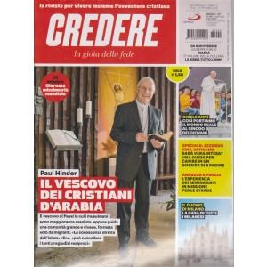 Credere - La Gioia Della Fede - n. 42 - 21 ottobre 2018 - settimanale